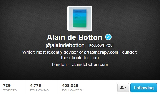Alain follows you